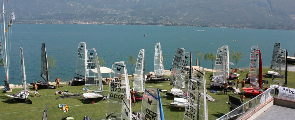 Geoflor green driveway and parking in Campione del Garda, Italy