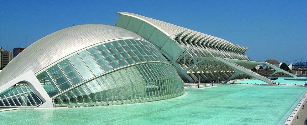 City Of Arts And Sciences Foundation Ventilation Valencia Spain Geoplast