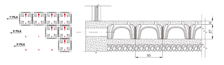 Biomodulo layout