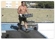 Installation Dachgarten System Completa