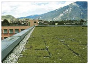 Fertiger Dachgarten mit System Completa