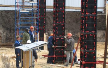 Beton Schalung Pfeiler Kunststoff