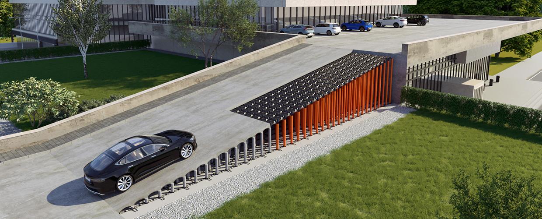 Neu Elevetor Autorampenkonstruktion