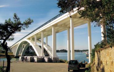 Kerisper bridge France Geotub 01