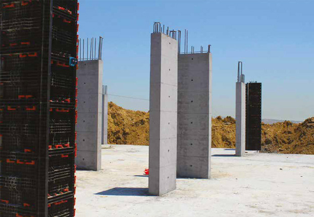 Formwork for Square and rectangular columns