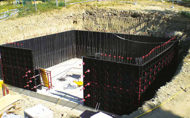 BUNKER Construction using Geopanel