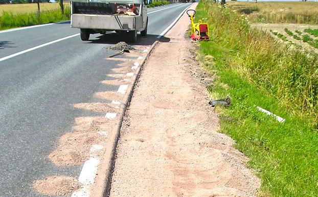 Reinforcement of roadside_2