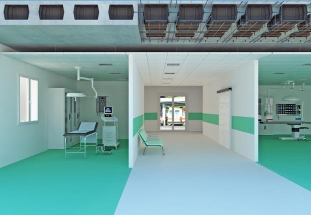 slab system for hospitals
