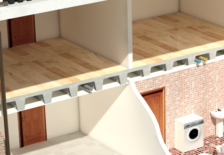 Forjados unidireccionales aligerados para edificios residenciales