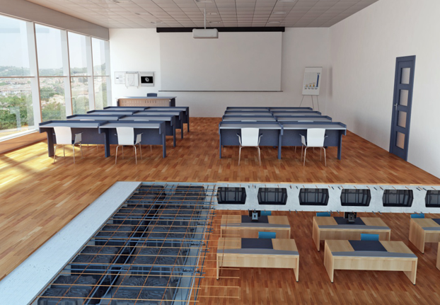 Slabs for school Buildings