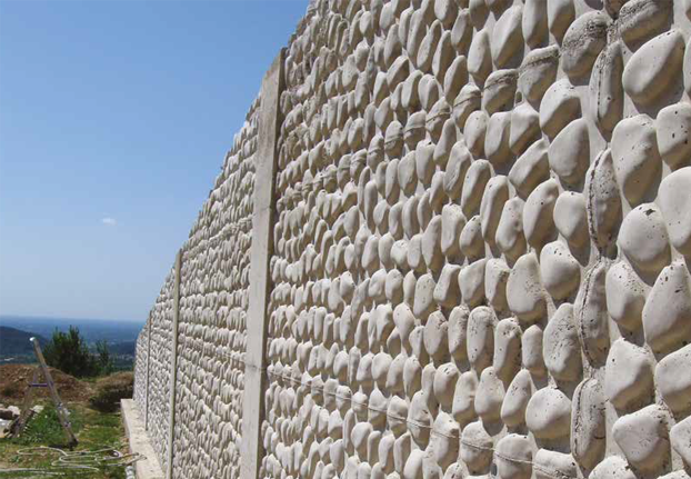 Geopanel Art Stone textured panels