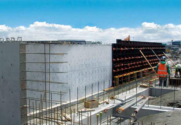 Geopanel Wall Formwork in New Zealand