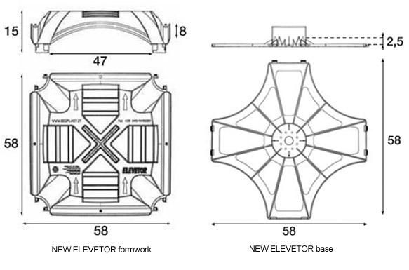 New Elevetor Tank Technical Chart
