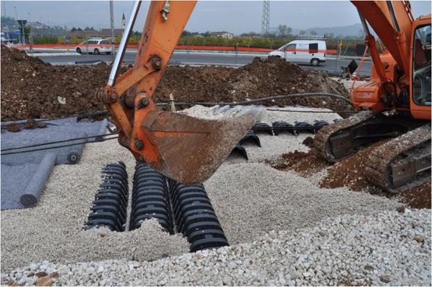 Baustellen-Entwässerung