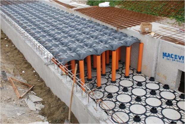 Baustellen Straßenentwässerung