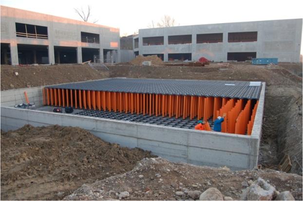 Parking lots drainage 6