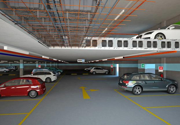 Solai bidirezionali per parcheggi