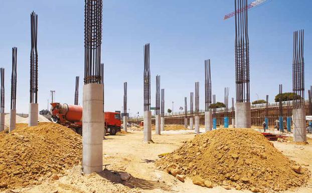 ovale Säulen
