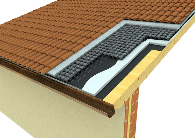 Minimodulo for ventilated roofs