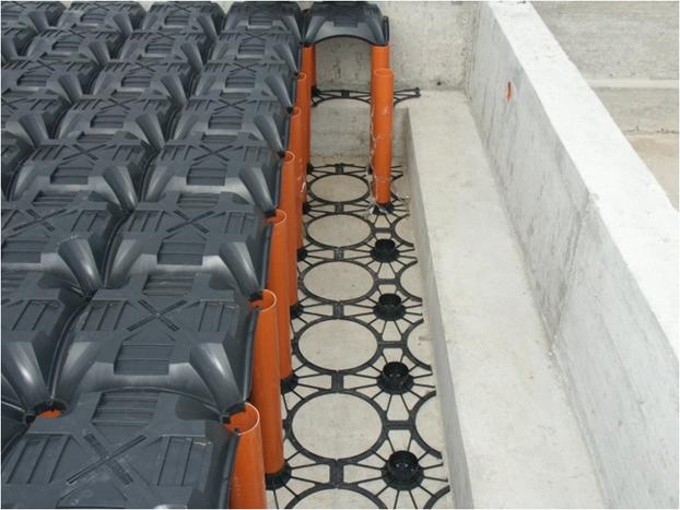 Household rainwater harvesting new elevetor tank construction