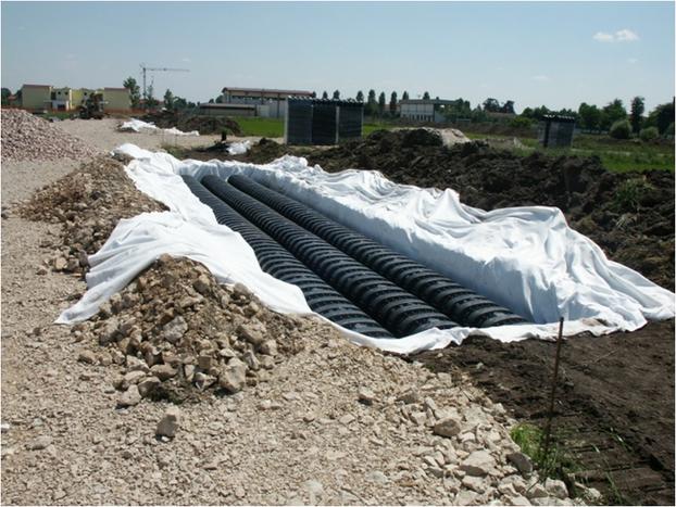 Household rainwater harvesting drening