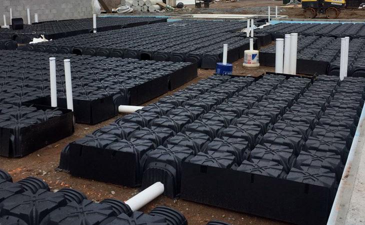 Geoplast vapor intrusion prevention solution