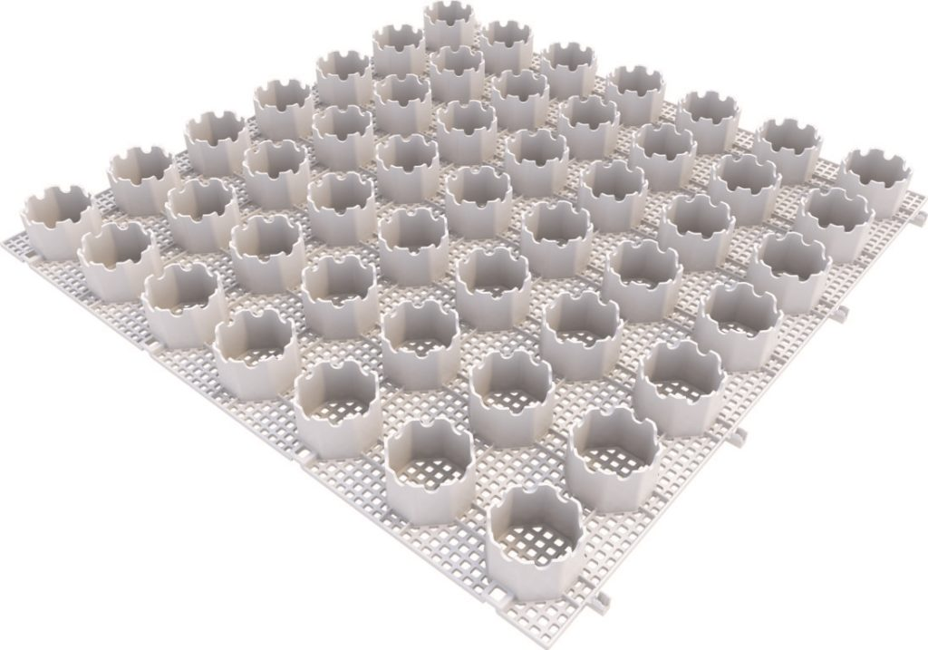 Geogravel gravel stabilizer grid for driveways and car parks