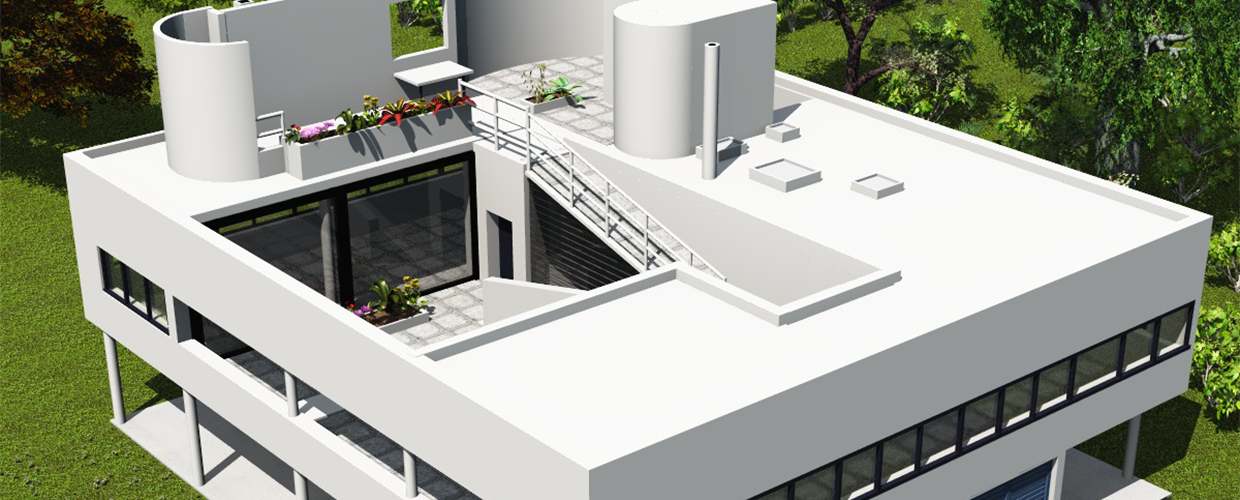 villa savoye roof terrace about roof. Black Bedroom Furniture Sets. Home Design Ideas