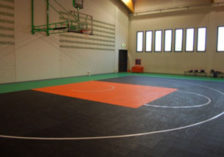 basketball indoor gripper surface
