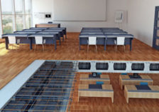 Lightweight slab solution for school buildings