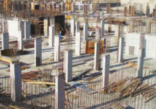 GEOPANEL formwork is ideal to build shear walls counstruction