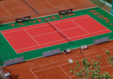 Tennis surface Gripper outdoor