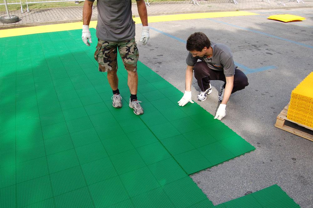 installazione calcio outdoor