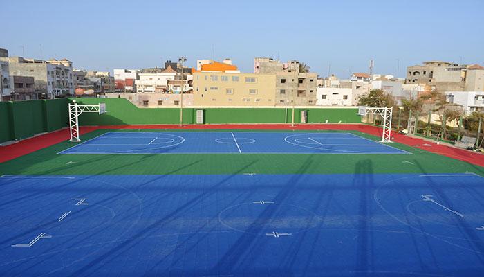 Gripper Project - New Sports Courts, Dakar, Senegal
