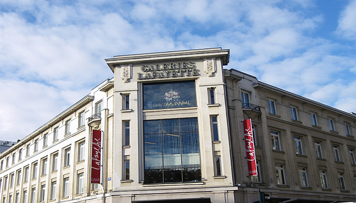 Lafayette Fashion Store in Rennes
