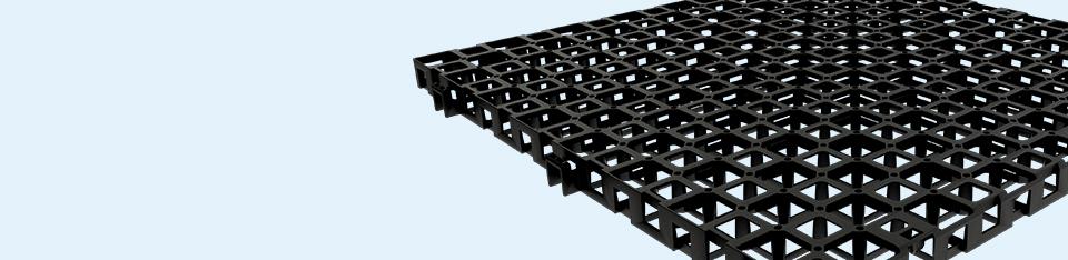 Système de drainage horizontal à haute capacité d'écoulement