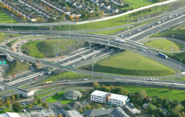 m50 motorway extension, red cow roundabout, Dublin