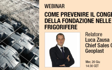Come prevenire il congelamento della fondazione nelle celle frigorifere, relatore Luca Zausa