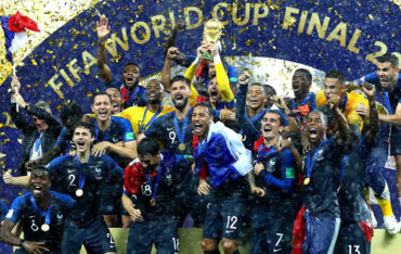 French national Team was crowned World Champion after defeating Croatian Team 4-2 in the FIFA World Cup 2018 final game in Moscow