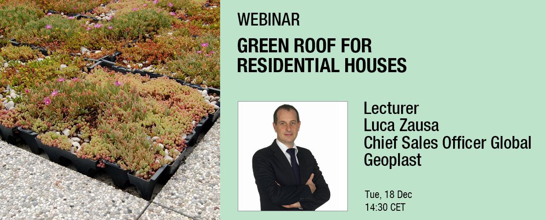 Geoplast Webinar Events Cover Luca Zausa Green Roof 2018