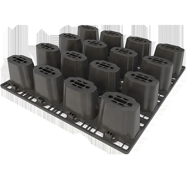 DRAINPANEL ist das Filter-Module für Infiltration und Sammlung von Regenwasser