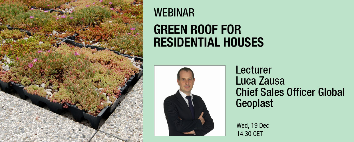 Geoplast Webinar Events Cover Luca Zausa Green Roof 2018