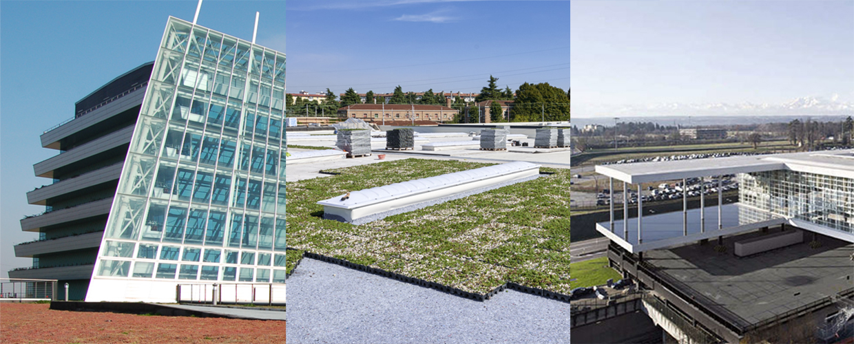 Geoplast Green Roofs Projects