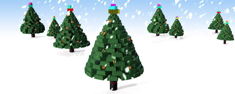 Geoplast Christmas New Year tree