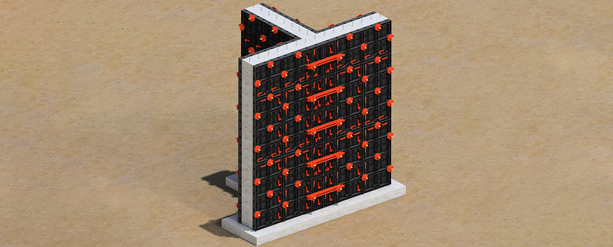 Geopanel - Easy to use modular and plastic formwork panel system