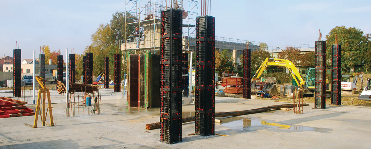 Geotub Panel - Square Column Formwork Made of Recycled Plastic