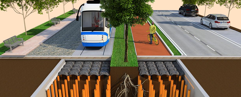 Neu Elevetor Straßenabschnitt mit hoher Tragfähigkeit