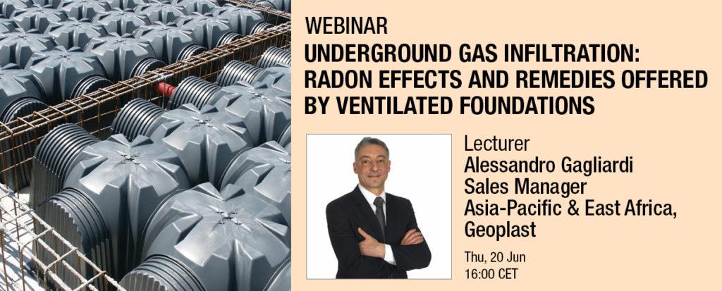 Webinar Underground gas infiltration