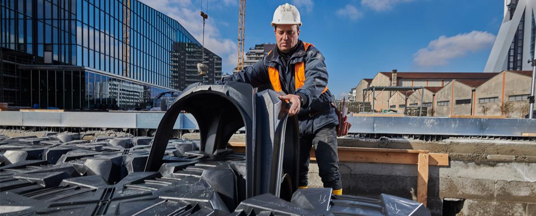 Construction site safety, Geoplast