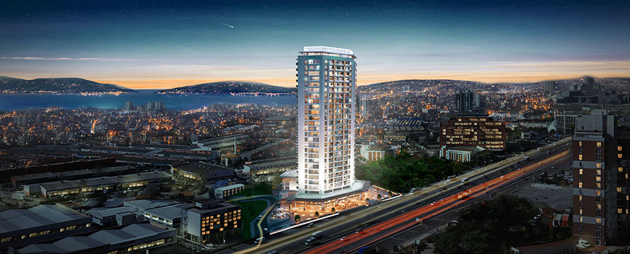 Geoplast Marmara tower Istanbul mixed-use residential